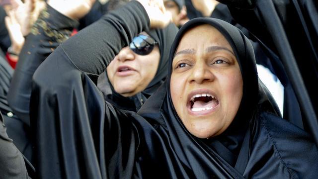 Bahreinse vrouw krijgt drie jaar cel na verscheuren foto koning