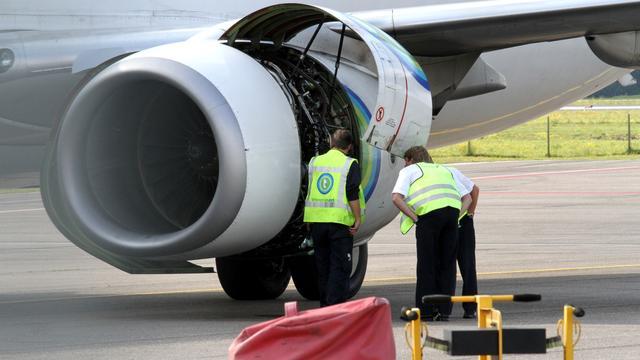 Vliegtuig breekt start af na brandmelding