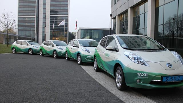 Groeikapitaal voor startup in elektrische taxi's