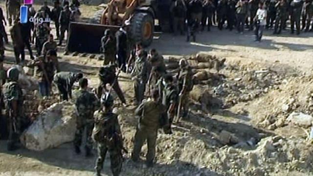 'Syrië plaatst mijnen langs Libanese grens'