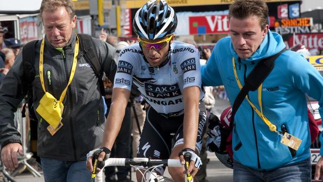 Contador wil contract bij Saxo Bank verlengen