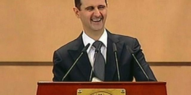 Assad bereid tegen buitenlanders te vechten