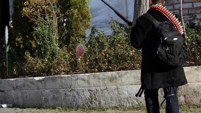 Schutter opent vuur voor Topkapipaleis Istanbul