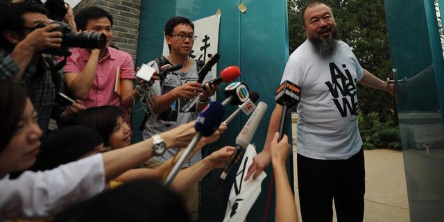 Vrouw Ai Weiwei verhoord