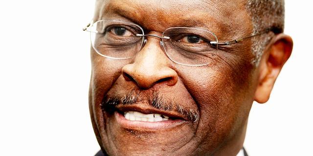 Herman Cain ontkent intimidatie