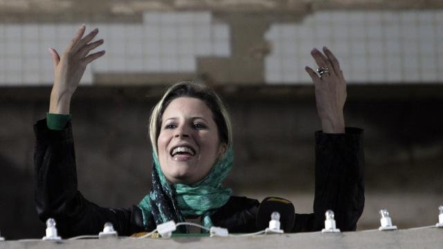 Dochter Kaddafi roept Libiërs op tot verzet