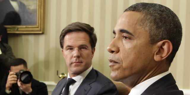 Obama ontvangt Rutte in Witte Huis