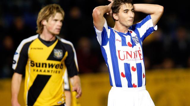 NAC en Heerenveen gelijk, Roda langs Heracles