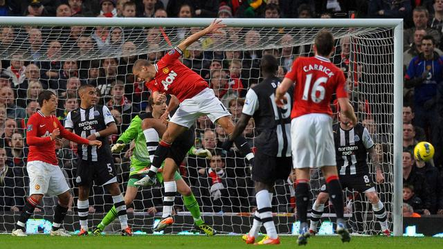 Manchester United niet langs Newcastle