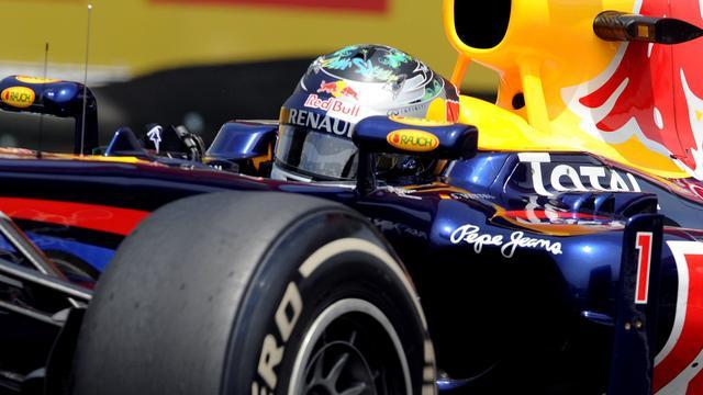 Vettel snel in laatste vrije training