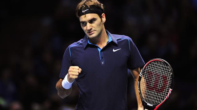 Federer treft Tsonga in finale ATP World Tour Finals