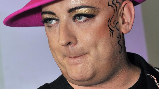 Boy George coach in The Voice UK