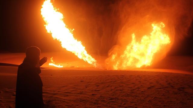 Gasleiding naar Israël opgeblazen