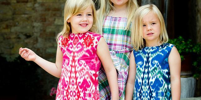 Prinses Amalia viert 8e verjaardag