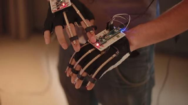Nederlanders maken handschoen voor virtual reality-games