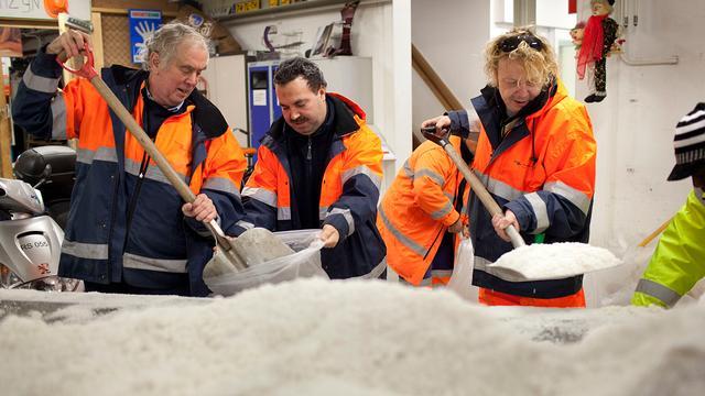 Op deze plekken in Amsterdam wordt er zout gestrooid