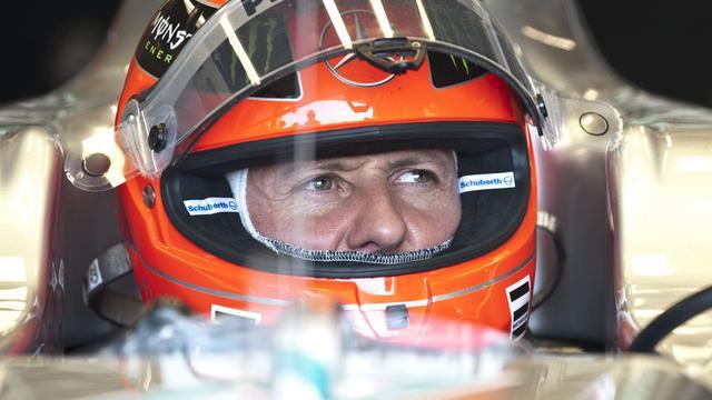 Schumacher maakt beste starts in 2011