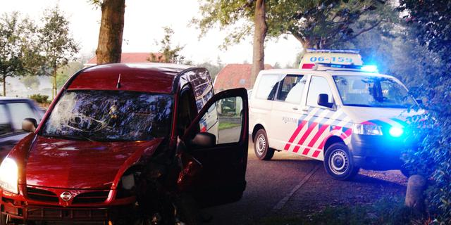 Politie lost schot na overval