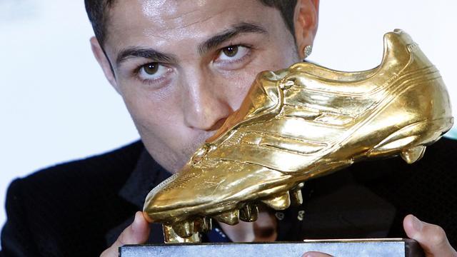 Gouden Schoen voor Ronaldo
