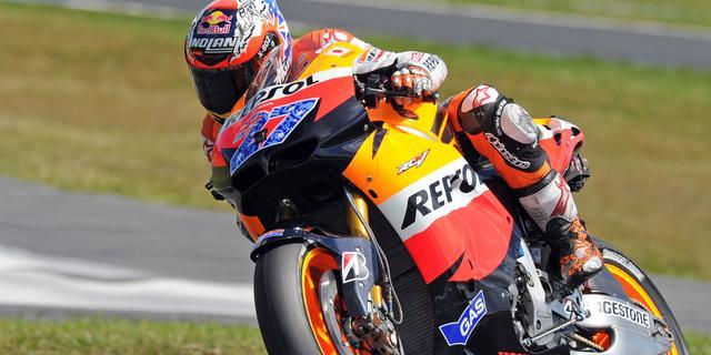 Tweede wereldtitel Stoner in MotoGP