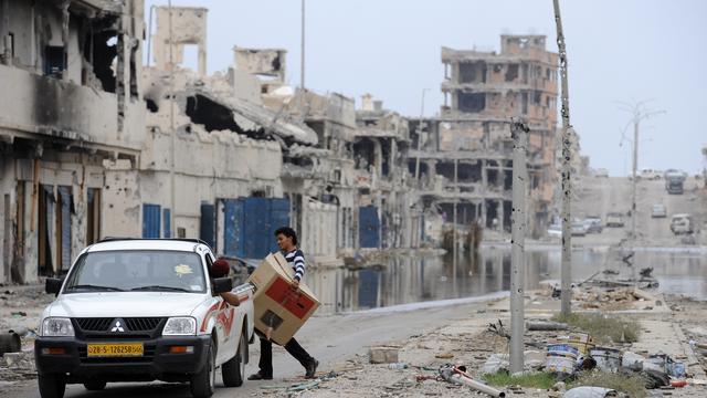 NAVO beëindigt Libië-missie maandag