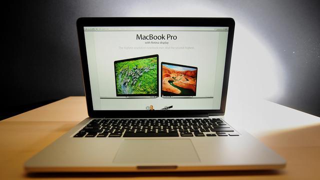 'Nieuwe MacBook Pro krijgt klein aanraakscherm boven toetsenbord'