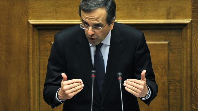 Griekse oppositieleider wil ontslag premier