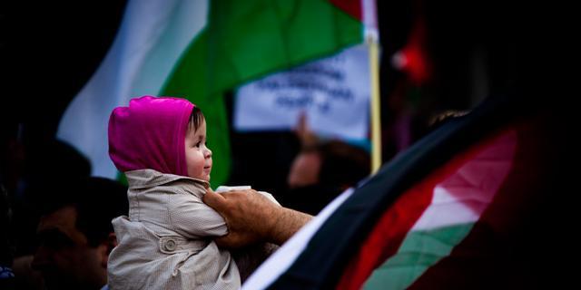 Museumplein zondag toneel van pro-Gaza-demonstratie