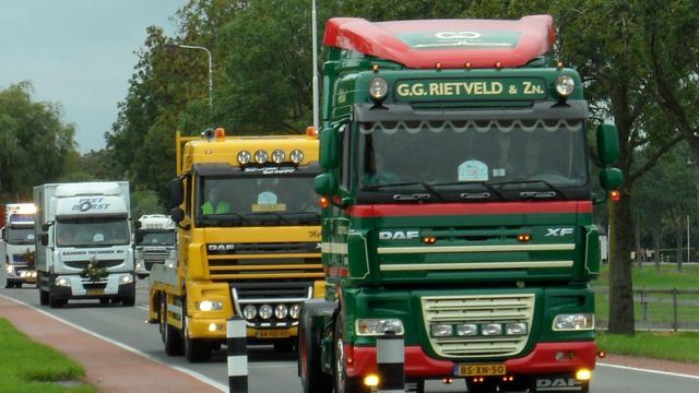 Op 12 december prikactie truckers
