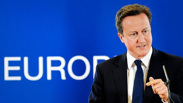 Cameron dringt aan op snelle actie eurozone