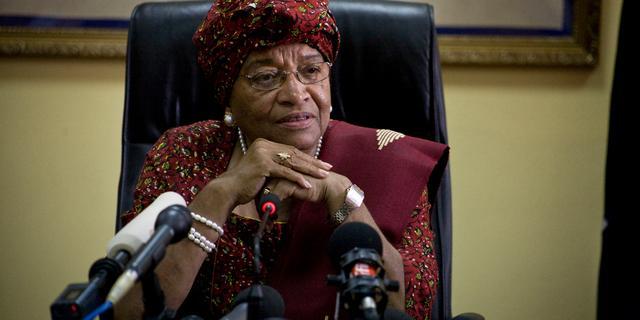Vrijwel alle Liberianen stemden op Sirleaf