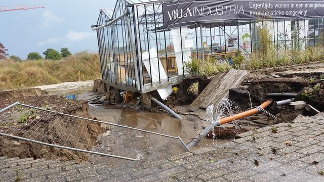 Zware regenval veroorzaakt miljoenenschade