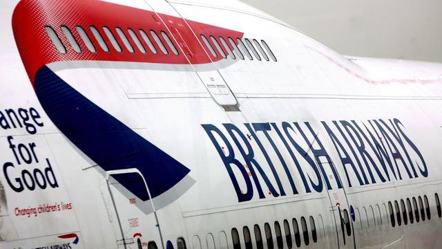 Topman British Airways vertrekt