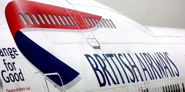 Topman British Airways vertrekt