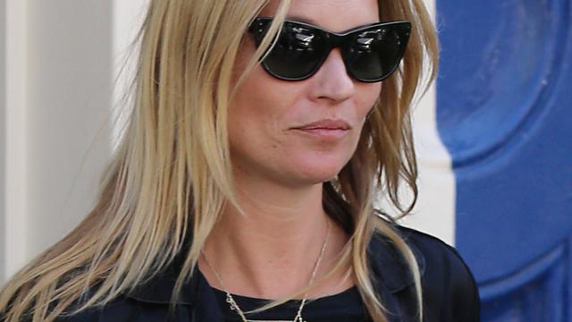 'Kate Moss dronken in vliegtuig naar Londen'