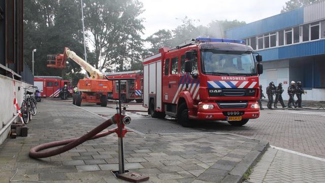 Grote brand in Leeuwarden