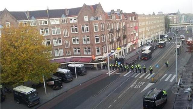 Kraakpanden Amsterdam ontruimd