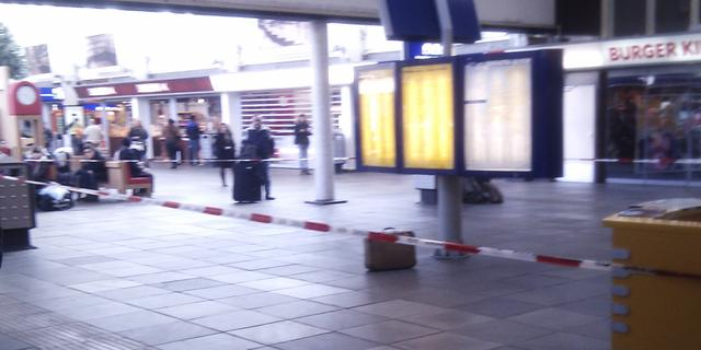 Station Amsterdam Amstel ontruimd