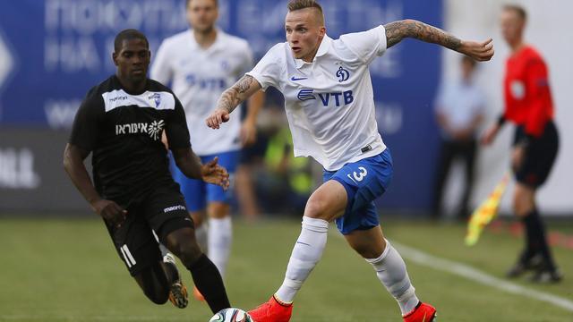 Eerste goal Büttner voor Dinamo Moskou afgekeurd (video)