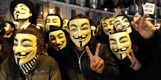 'Anonymoushack Amerikaanse beurssite mislukt'