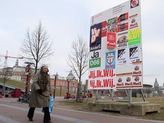 Opkomst was vorige verkiezingen slechts in Amsterdam