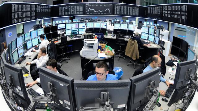 Vertrouwen Duitse beleggers fors gedaald