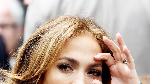 Jennifer Lopez in tranen na liefdesliedje