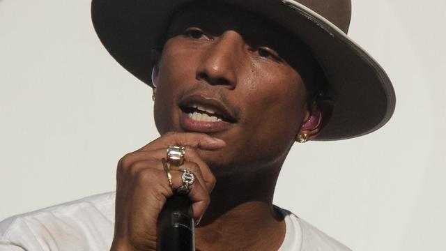 Happy van Pharrell Williams jaar in hitlijst