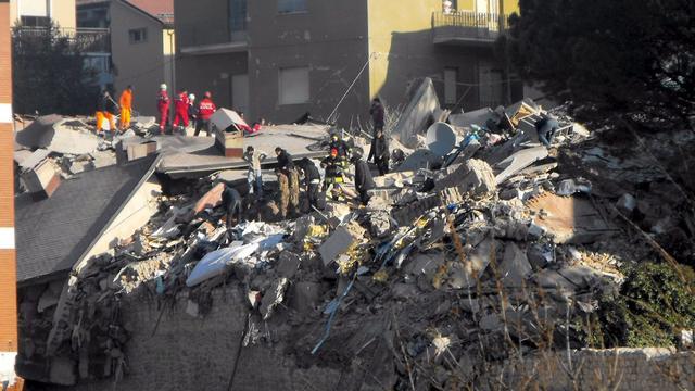 Aardbeving in noordoosten Italië