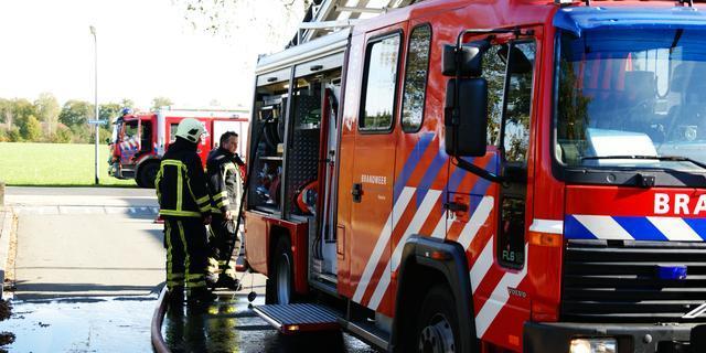Korte brand bij afvalverwerker Moerdijk