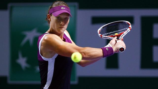 Stosur naar halve finale WTA Championships
