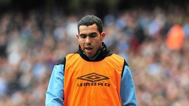 Bestuur van Manchester City in gesprek met Tevez