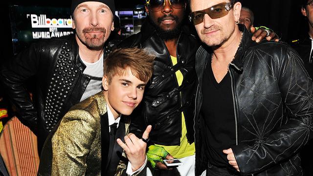 Justin Bieber wil zijn als David Beckham