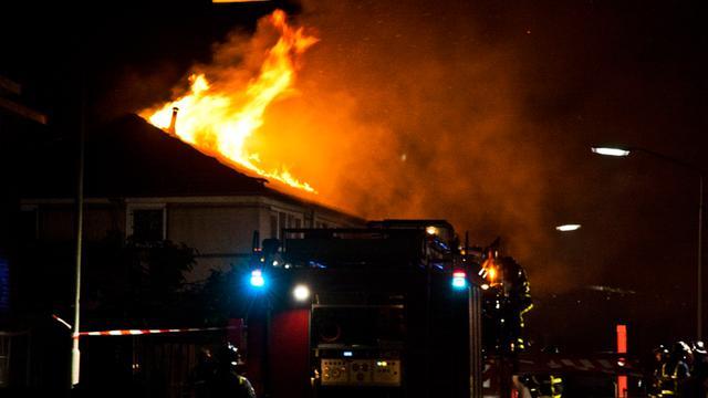 Boze klant zet restaurant in brand